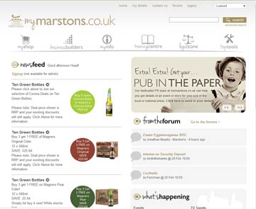 creen shot of MyMarston's