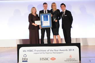 Aaron Stewart Young Franchisee of the Year