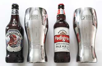 Marston's won two 'Pint Statues' Beer Marketing Awards