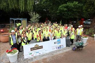 A charitable partnership between Marston's PLC and Hannafin Construction Ltd