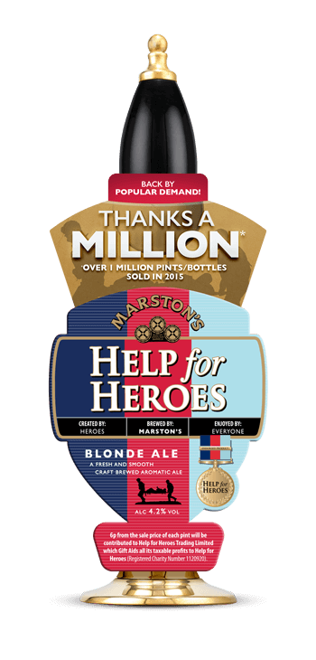 Another Year for Help for Heroes Beer