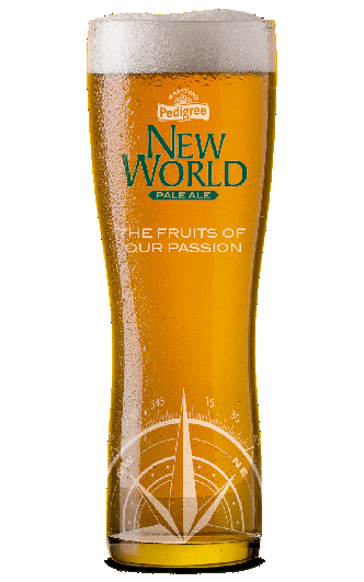 New World Pale Ale glass