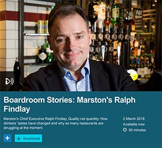 CEO Ralph Findlay on BBC Radio 5 Live
