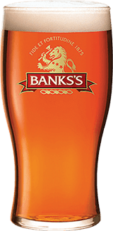 Bankss Pint Glass