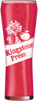 Kingston Press Pint Glass