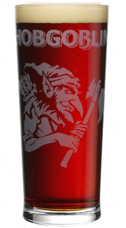 hobgoblin Pint Glass