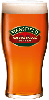 Mansfield Pint Glass
