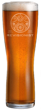 Revisionist Pint Glass