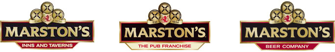 Marston's Inns and Taverns, Beer Company and Franchise logos
