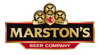 Marston's beer company sample logo on transparent backgrounds