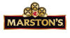 Marston's PLC sample logo on transparent backgrounds