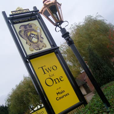 Marstons Two for One pub restaurants